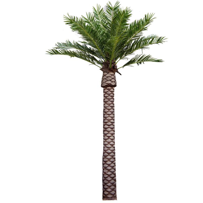 室外大型仿真海枣树_人造仿真海藻树_仿真棕榈树厂家