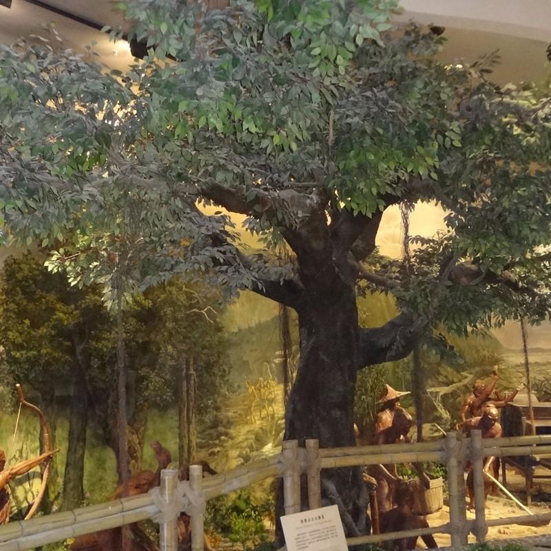 博物馆装饰仿真榕树_人造假榕树