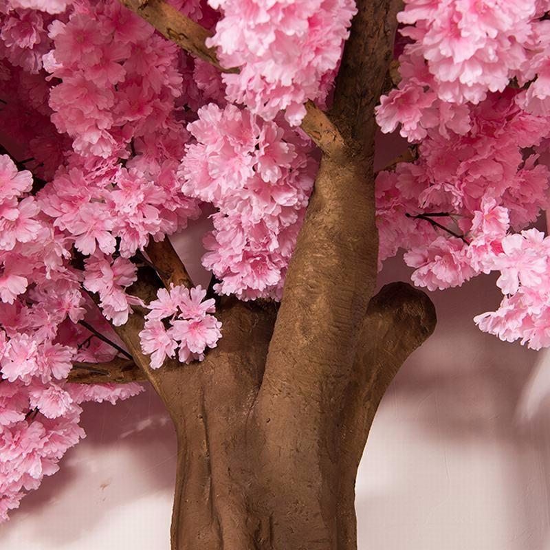 人造樱花树装饰_仿真樱花树生产厂家_仿真樱花树价格