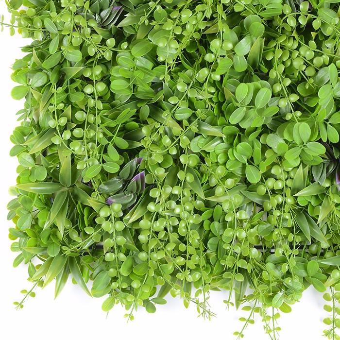 千叶幽兰仿真植物墙_室内客厅阳台装饰背景墙人造草坪绿植墙