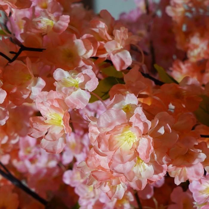 婚礼装饰仿真樱花树的做法 室内仿真樱花树价格