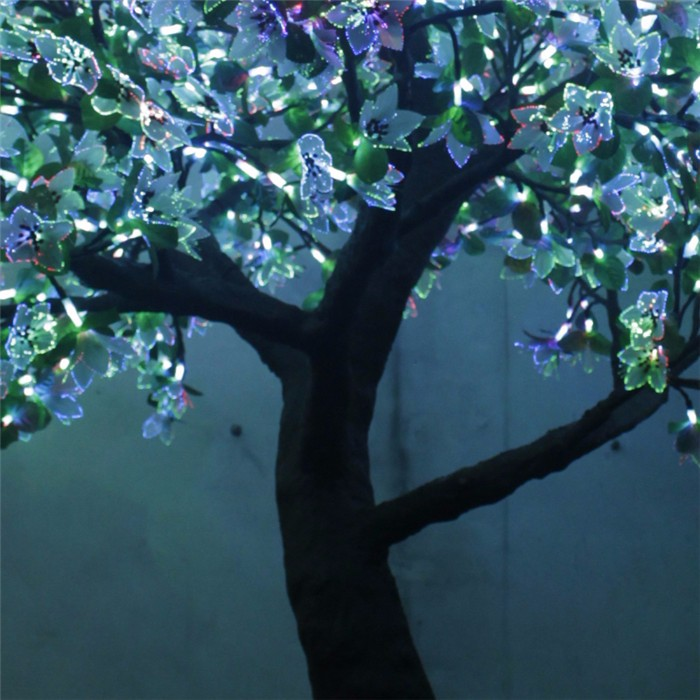 led仿真树灯混合色 仿真灯树厂家 任何规格可定制