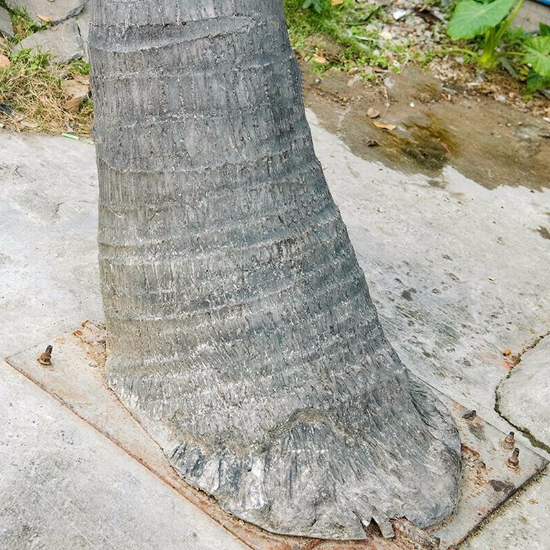 海滩仿真椰子树_弯杆仿真椰子树