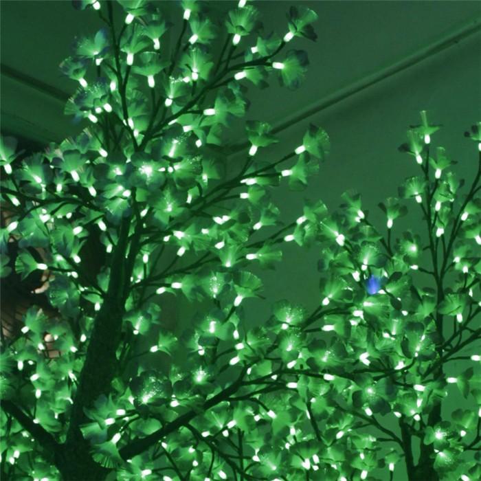 绿色led仿真银杏树灯 发光树 led仿真树灯生产厂家