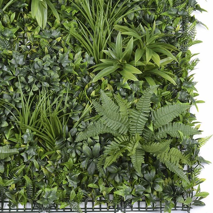 花团锦簇植物墙_波斯水草绿植墙