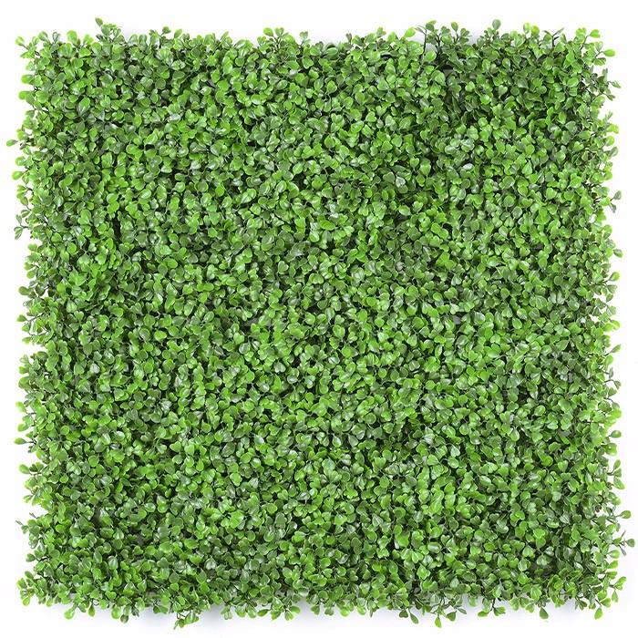 四层米兰叶绿植墙背景墙_室内外草坪草墙颜色多样规格可定制