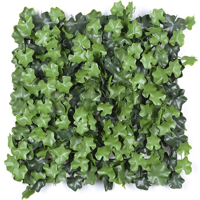 海棠叶植物墙厂家_人造植物墙背景墙批发