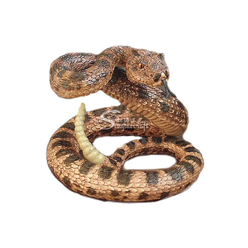 仿真动物雕像蛇_玻璃钢动物雕塑_仿真动物厂家