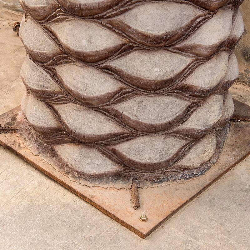 新风格人造海枣树_室内外景观假海藻树_大型树装饰